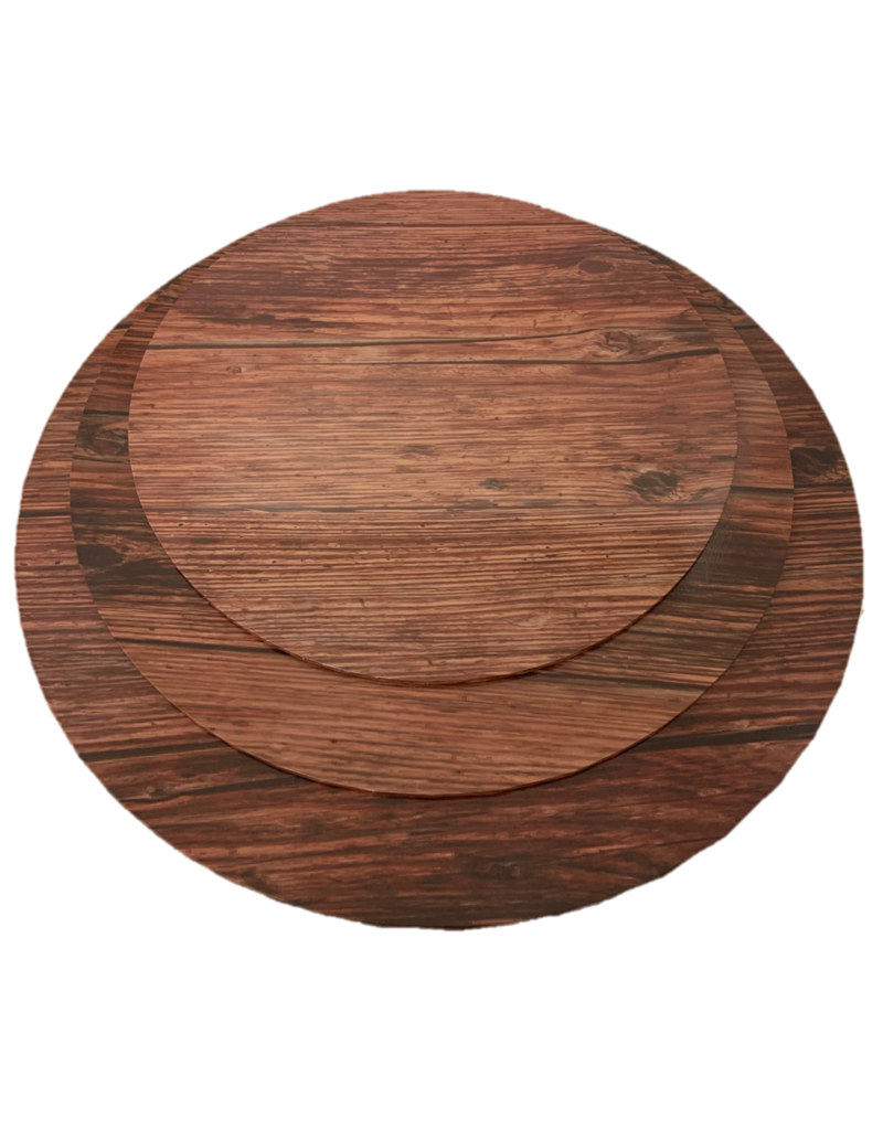 "MDF Cake Board Dark Wood 12"" (MDF12DW)"