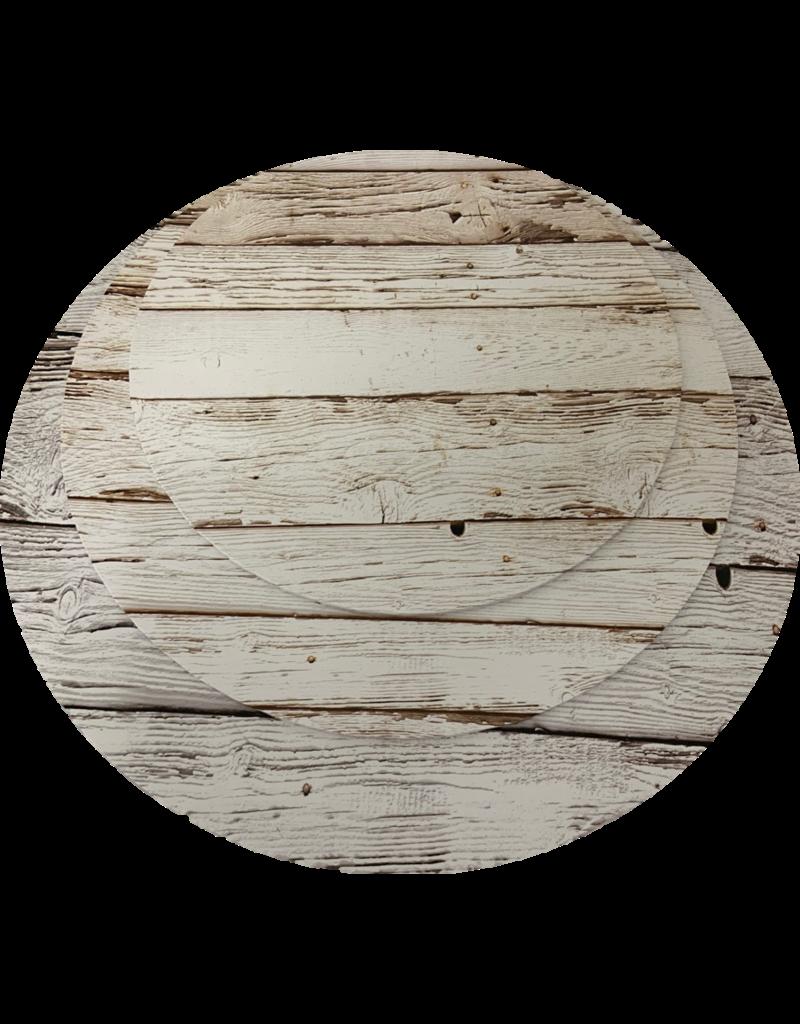 """MDF Cake Board Light Wood 10"""" (MDF10LW)"""