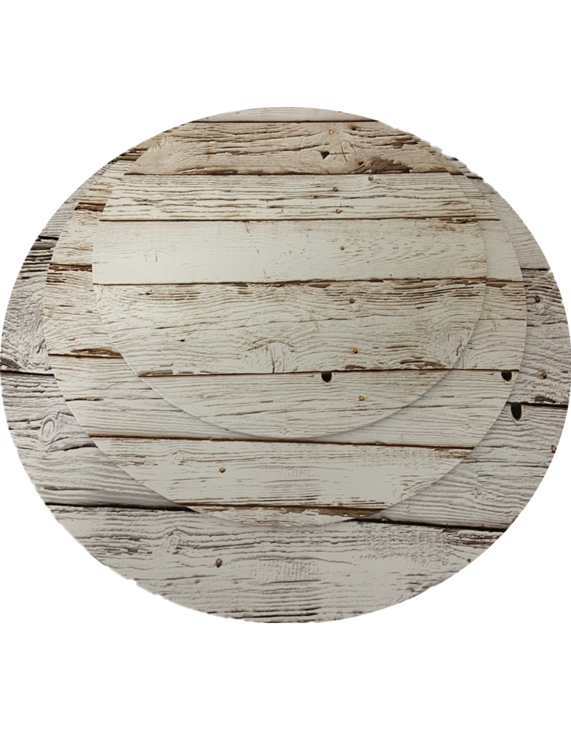"MDF Cake Board Light Wood 12"" (MDF12LW)"