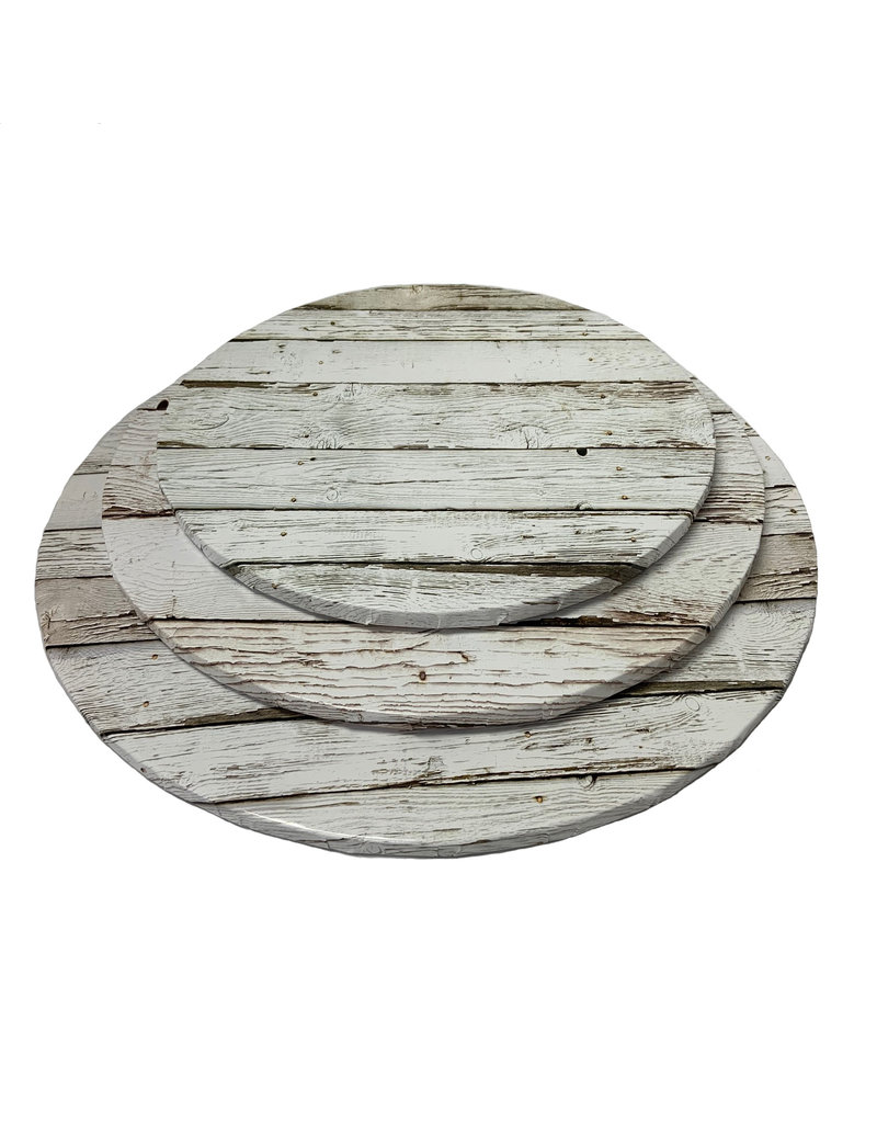 "Round Cake Drum Light Wood 12"" (DR12LW)"