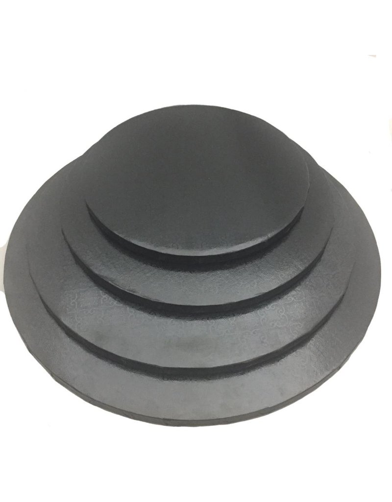 "Round Cake Drum Black 12"" (DR12B)"