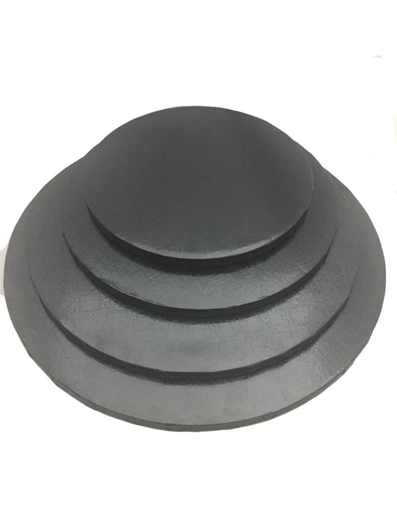 "Round Cake Drum Black 14"" (DR14B)"