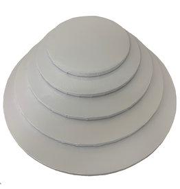 "Round Cake Drum White 12"" (DR12W)"