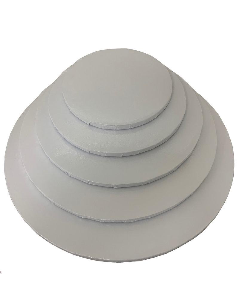"Round Cake Drum White 14"" (DR14W)"
