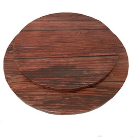 "Round Cake Drum Dark Wood 14"" (DR14DW)"