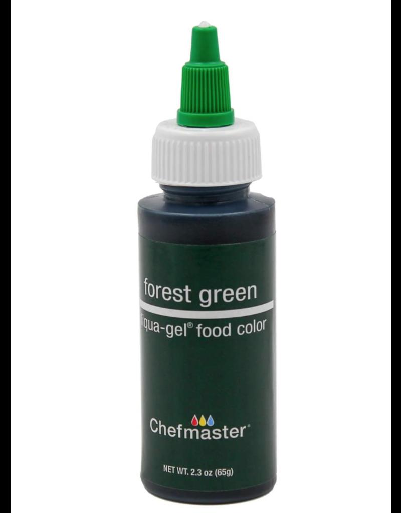 CHEFMASTER CHEFMASTER LIQUA GEL FOREST GREEN 2.3 OZ