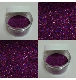 CLEARVIEW MOLDS BLUE VIOLET GLITTER NON TOXIC, FOR DECORATIVE PURPOSES ONLY 5GR