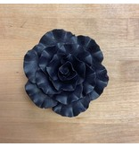 SUGAR FLOWER FORMAL ROSE BLACK 3""