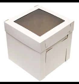 Corrugated White Box 14x14x8 (CB14148W)