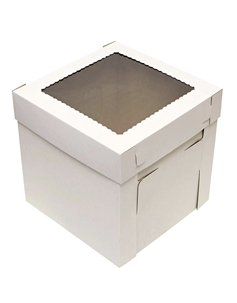 Corrugated White Box 14x14x8 (CB14148W)