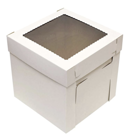 Corrugated White Box 12x12x8 (CB12128W)