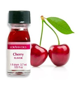 LORANN OILS CHERRY FLAVOR DRAM SUPER STRENGTH