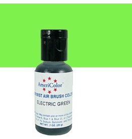 AMERICOLOR ELECTRIC GREEN AIRBRUSH .65oz 10362