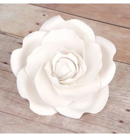 SUGAR FLOWER WHITE CAMELIA