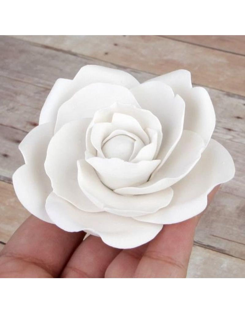 SUGAR FLOWER WHITE CAMELLIA