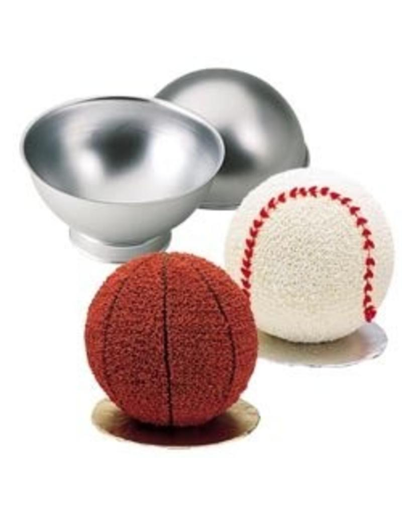 WILTON WILTON 3-D SPORTS BALL PAN SET 2105-6506
