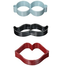 WILTON CUTTER SET CLR MTL LIPS STACH 2308-3740