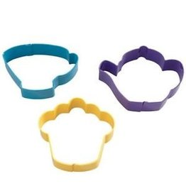 WILTON TEA PARTY 3PC CUTTERS 2308-0092
