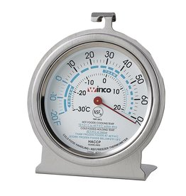"WINCO 3"" FREEZER/REFRIG. THERMOMETER TMT-RF3"