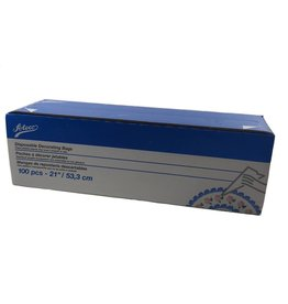 "ATECO 21"" DISPOSABLE BAGS 100/ROLL 4721"