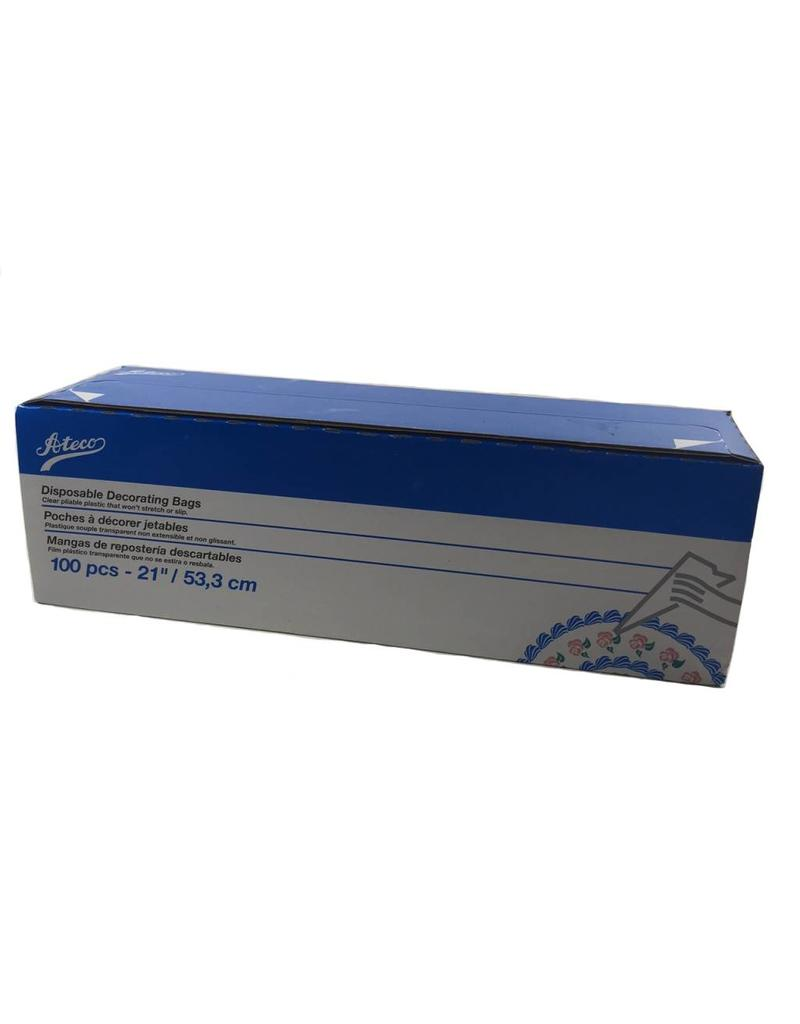 """ATECO 21"""" DISPOSABLE BAGS 100/ROLL 4721"""