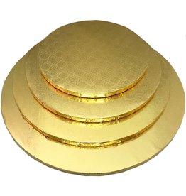 """Gold Round Drum B/C-Flute 14"""" WPDRM14G"""