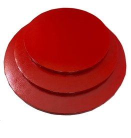 "Red Round Drum B/C-Flute 16"" WPDRM16R"