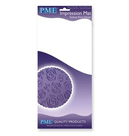 PME IMPRESSION MAT FANTASY ROSE DESIGN IMI97