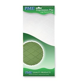 PME IMPRESSION MAT LARGE DIAMOND DESIGN IMI83