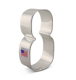 NUMBER 8 COOKIE CUTTER 8190A