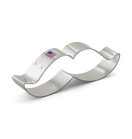 "4"" MOUSTACHE METAL COOKIE CUTTER 90981"