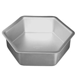 "FAT DADDIO'S HEXAGON CAKE PAN 10"" x 3"" PHX-103"