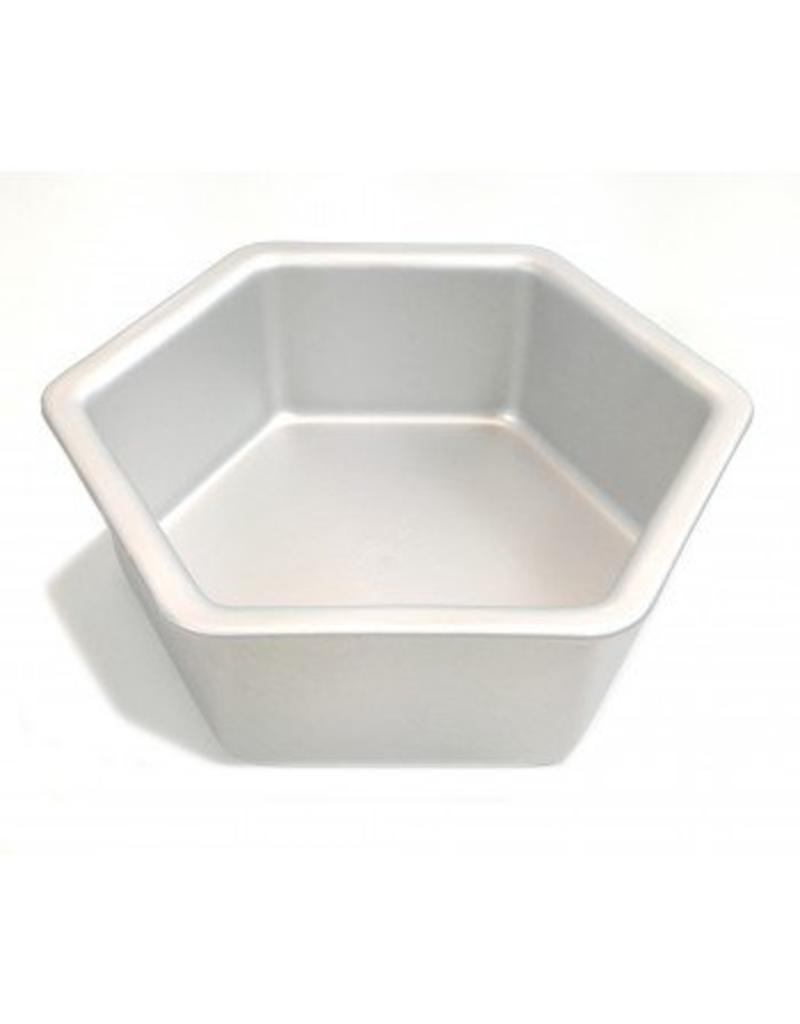 "FAT DADDIO'S HEXAGON CAKE PAN 8"" x 3"" PHX-83"