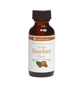 LORANN OILS CREAMY HAZELNUT FLAVOR 1 Fl. Oz.