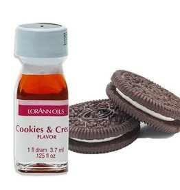 LORANN OILS COOKIES AND CREAM DRAM SUPER STRENGTH