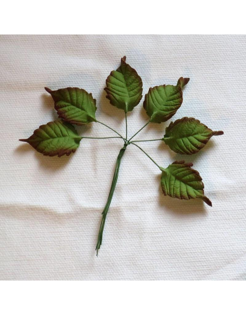 SUGAR LEAF MEDIUM ROSE LEAVES