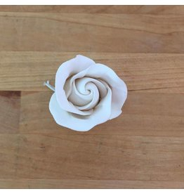 SMALL CLASSIC GARDEN ROSE (PAIR) SUGAR FLOWER