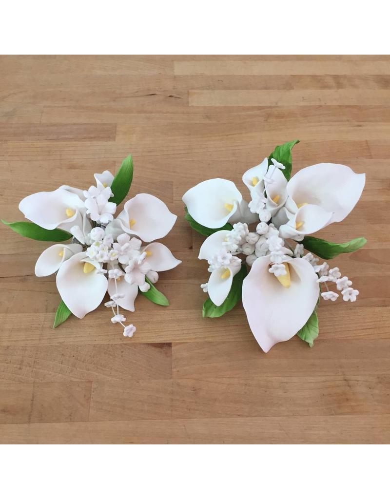 Calla Lily Topper Small Sugar Flower Ecakesupply