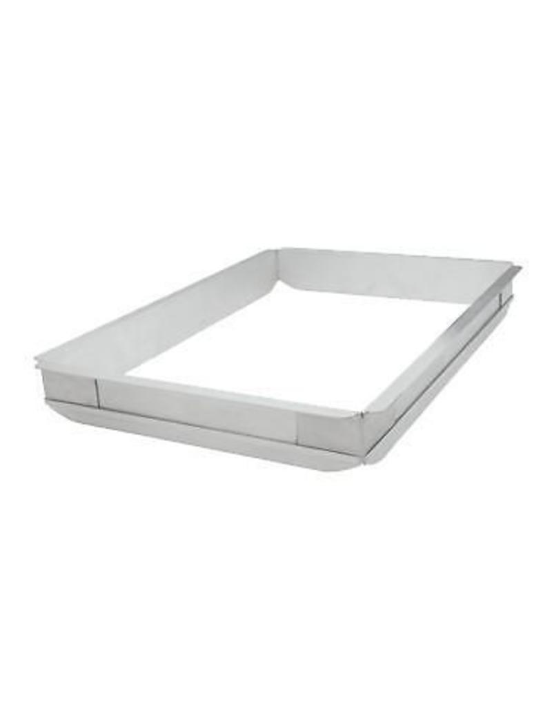 WINCO SHEET PAN EXTENDER, HALF SIZE, ALU AXPE-2