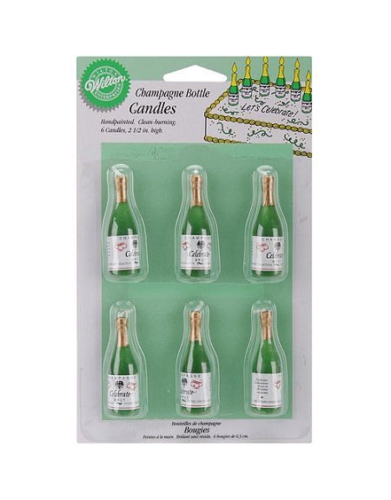 WILTON CHAMPAGNE CANDLES