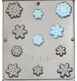 CHOCOLATE MOLD SNOWFLAKES 2164