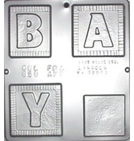 CHOCOLATE MOLD BABY SIGN 658