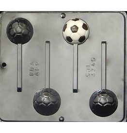 CHOCOLATE SOCCER MOLD 3340