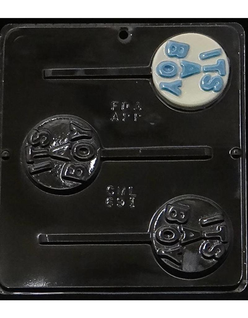 CHOCOLATE MOLD ITS A BOY 691
