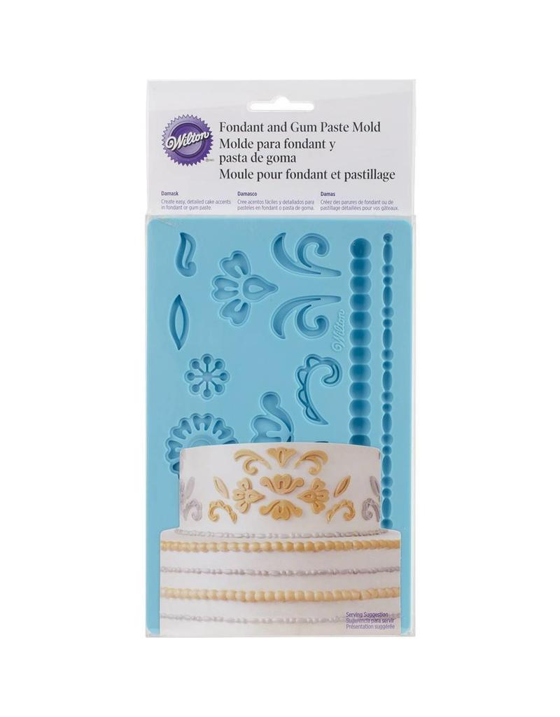 WILTON FGP MOLD DAMASK 409-2529