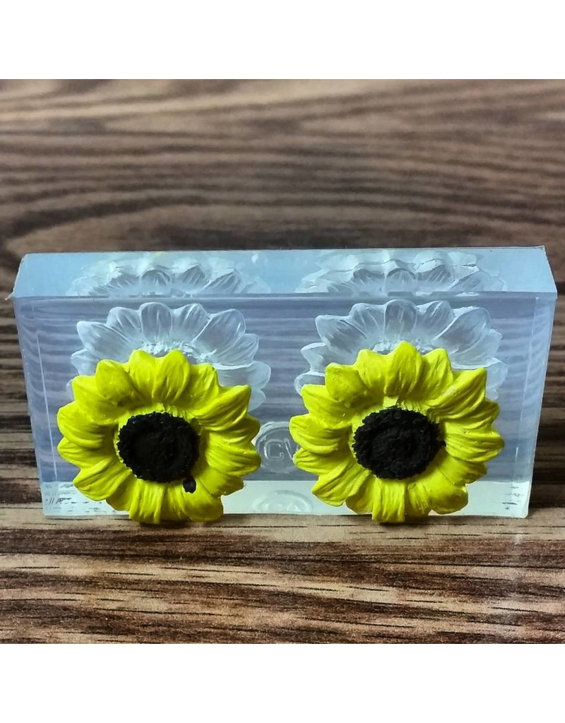 CLEARVIEW MOLDS SILICONE MOLD FLOWERS FL-19