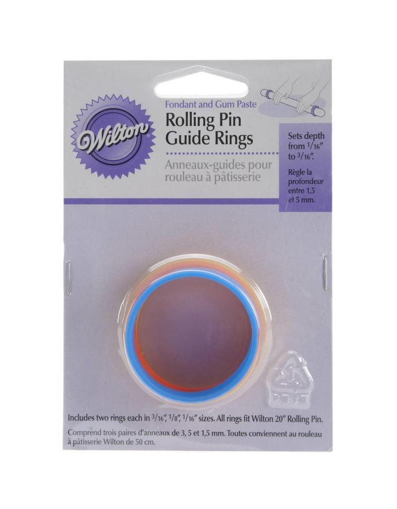WILTON FONDANT ROLLING PIN RING 1907-1010
