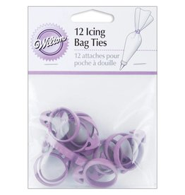 WILTON 12 ICING BAG TIES 417-713