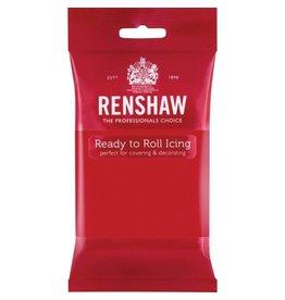 RENSHAW 1.5 LBS RENSHAW RED FONDANT ICING