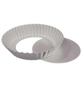 "FAT DADDIO'S FLUTED TART PAN 10"" X 2"" PFT-102"